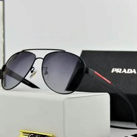 Prada 2018 New Trendy Polarized Fashion Sunglasses F-A-SDYJ NO.1