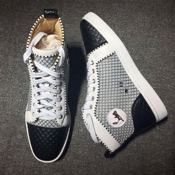 DCCK Cl Christian Louboutin Style #2136 Sneakers Fashion Shoes