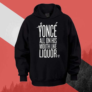 yonce Hoodie Sweatshirt Sweater Shirt black white and beauty variant color Unisex size