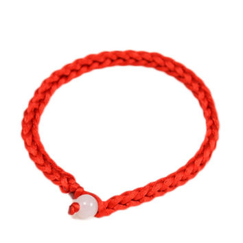 Hot Simple Classic Lucky Chinese Braided Red String Rope Cord Bracelet Gift Fine Jewelry