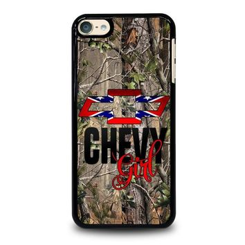 CAMO BROWNING REBEL CHEVY GIRL iPod Touch 4 5 6 Case Cover