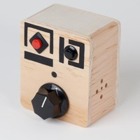 "Wood Voice Recorder with Pitch Control - ""Nob Nob"""