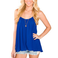 Indrani Top - Blue