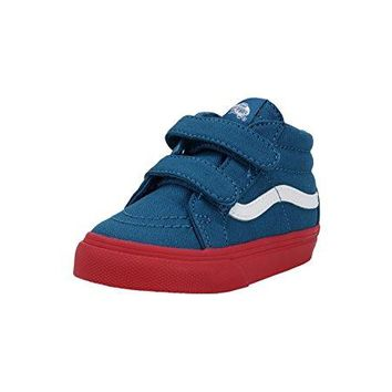 Vans SK8 Mid Reissue V Cosplay Blue/Red Infant/Toddler Shoes Boys/Girls