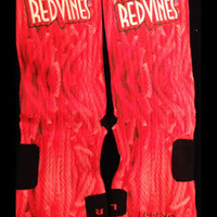 Red Vines Custom Parody Nike Elite Socks