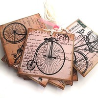 Bicycle Gift Tags - Set of 12