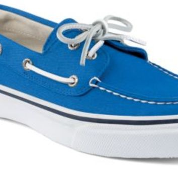 Sperry Top-Sider Bahama Varsity 2-Eye Boat Shoe Blue, Size 10.5M  Men's