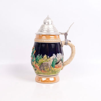 Shop Vintage Beer Steins Germany On Wanelo