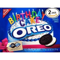 Oreo 100th Birthday Cake Cookies (Pack of 2): Grocery & Gourmet Food