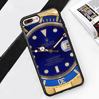 Special Luxury!Rolex.050 Submariner Fit Hard Case for iPhone 6 6s 7+ 8+ Cover