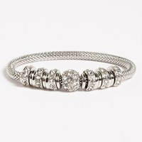 Women's Anne Klein Crystal Stretch Bracelet