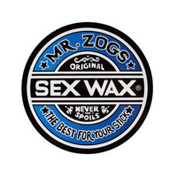 "Sex Wax 7"" Sticker"
