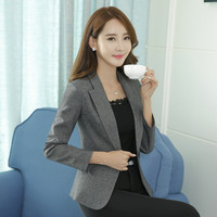 New Women Blazers And Jackets Blazer Candy Color Slim Suit Long-Sleeved Blazer  Female Small Coat Outwear