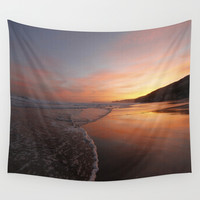 Last light at Dusk Wall Tapestry by Peaky40