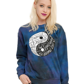 Dreams Nightmares Yin-Yang Girls Pullover Top