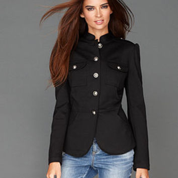 INC International Concepts Jacket, Ponte-Knit Band - Jackets & Blazers - Women - Macy's