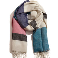 Selen Striped Scarf