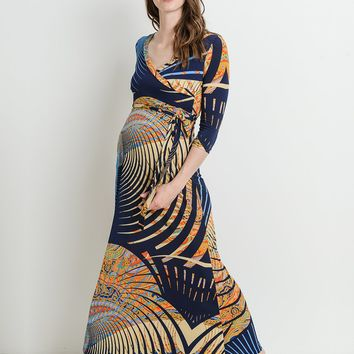 Ayla Maternity & Nursing Maxi Dress