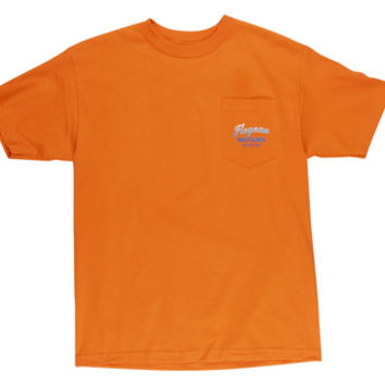 FLOGNAW MOTORS GRADIENT POCKET TEE ORANGE