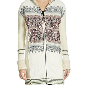 Free People Alpine Escape Sweater Coat