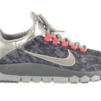 Nike Free Trainer 5.0 NRG Men's Shoes Cool Grey/Black-Infrared 644682-006 (12 D(M) US)