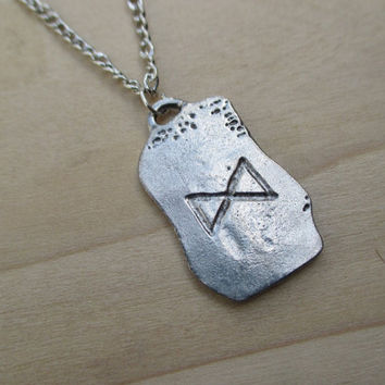 Viking Rune Necklace Norse Rune Protection Rune Warrior Rune Prosperity Rune Strength Rune Viking jewelry mens necklace