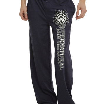 Supernatural Logo Guys Pajama Pants