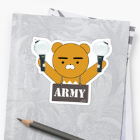 'BTS ARMY' Sticker by thumin