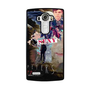 evan peters college lg g4 case cover  number 1