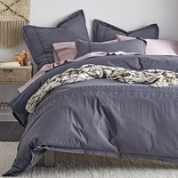 Cstudio Home Emmie Duvet Cover / Sham - Graphite