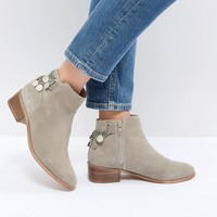 ASOS DESIGN Amaze Suede Ankle Boots at asos.com