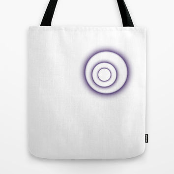 are you outside the circle ? Tote Bag by Irmak Berktas