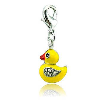 Yellow Duck Hanging Charm