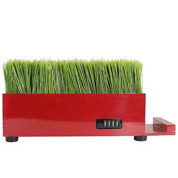 4 Port - Red, Baby Grass Charging Station