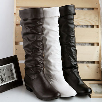 Winter Knee High Women Boots