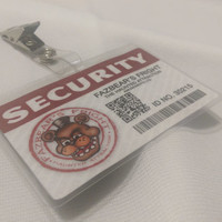 Five Nights at Freddy's - Fazbear's Fright Security ID Badges or Rewards Card