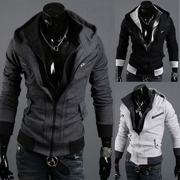 Assassins Creed Style Hoodie Double Layer