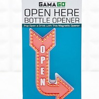 Open Here Bottle Opener - Urban Outfitters