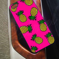Pineapple on iPhone 5C Case, iPhone 5/5S Case, iPhone 4/4S Case,Hard Case