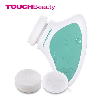 TOUCHBeauty sonic vibration facial cleansing brush,portable TB-1288