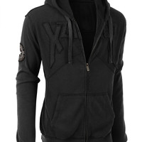 LE3NO Mens Soft Knit Fully Lined Zip Up Hoodie Jacket with Pockets (CLEARANCE)