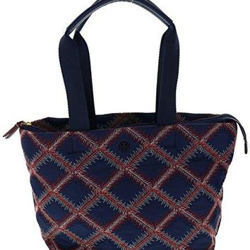 Tory Burch Flame-Quilt Small Tote Handbag Purse, Style No. 29644