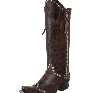 Old Gringo Rockrazz Boots Chocolate L598-3