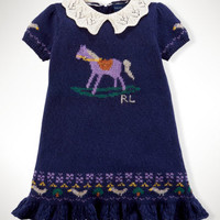 Intarsia-Horse Dress