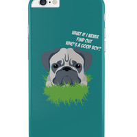 Who'S A Good Boy | Pug Funny Face iPhone 6 Plus / 6S Plus Cover