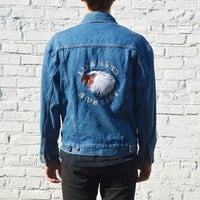 Harley Davidson Eagle Denim Jacket
