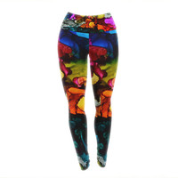 "Claire Day ""Hippie Love Child"" Yoga Leggings"