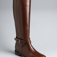Burberry Bridal Leather Riding Boots - Adelaide | Bloomingdale's