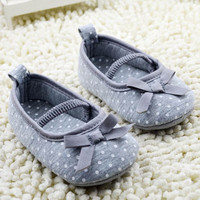 Girls Newborn Baby  Princess Shoes Infant Toddler  Butterfly Flower First Walkers Shoes