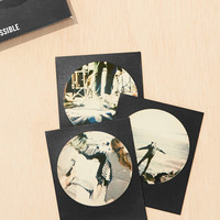Impossible Round Black Frame Edition Film - Urban Outfitters